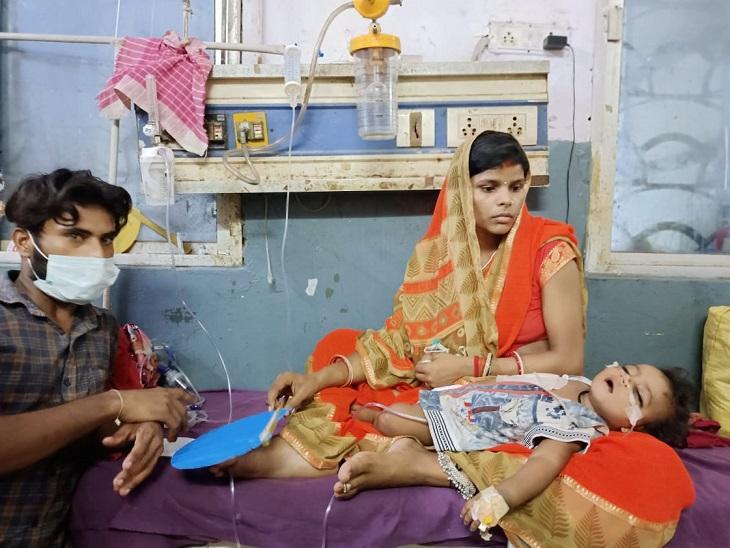 PMCH के शिशु वार्ड में बच्चों की पीड़ा देख परिजनों की हालत खराब, कहा- कराहते रहते हैं पेशेंट, लेकिन डॉक्टर नहीं आते देखने|बिहार,Bihar - Dainik Bhaskar