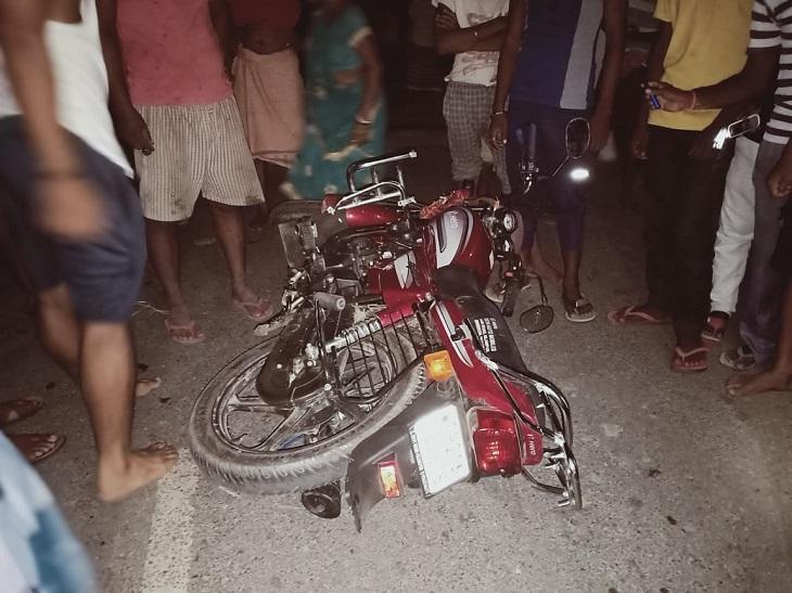 22 साल का युवक जा रहा था ससुराल, आक्रोशित लोगों ने अवैध वसूली का आरोप लगा पुलिस पर की रोड़ेबाजी|नालंदा,Nalanda - Dainik Bhaskar