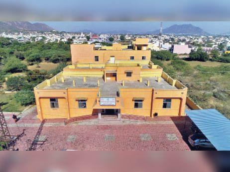 चंद्रवरदाई डिस्पेंसरी में बनेगा ऑक्सीजन कंसंट्रेटर बैंक। - Dainik Bhaskar