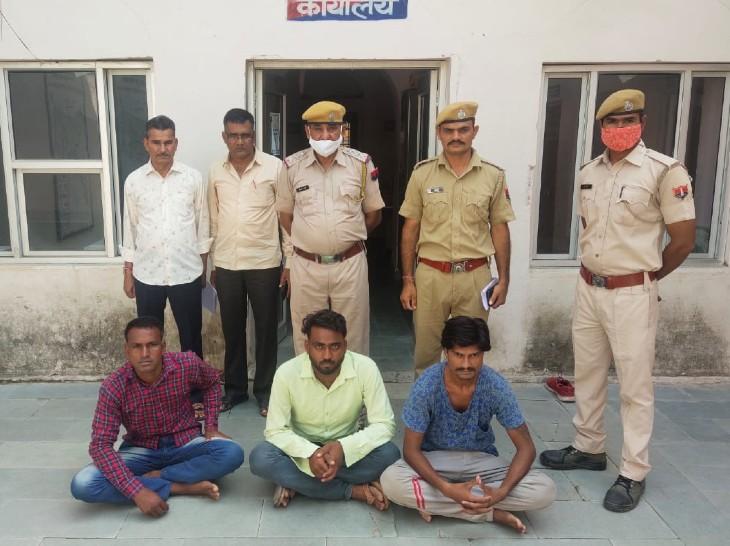 महाराज पर हमला करने के 3 आरोपियों को पुलिस ने गिरफ्तार किया है। - Dainik Bhaskar