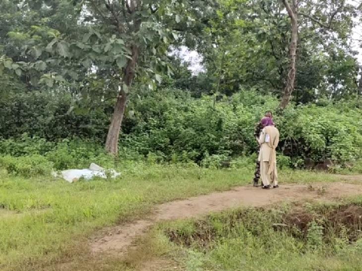 कांकेर में घर के बाहर से 5 किमी तक घसीट कर ले गया, शव को बुरी तरह नोच खाया; इलाके में 30 दिन में दूसरी घटना|छत्तीसगढ़,Chhattisgarh - Dainik Bhaskar