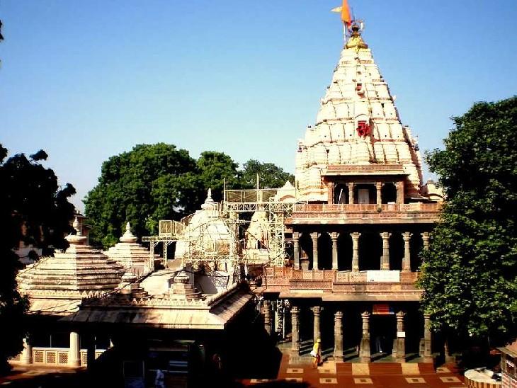 महाकाल मंदिर परिसर में 98 करोड़ से हो रहे हैं विकास व सौंदर्यीकरण के काम|उज्जैन,Ujjain - Dainik Bhaskar