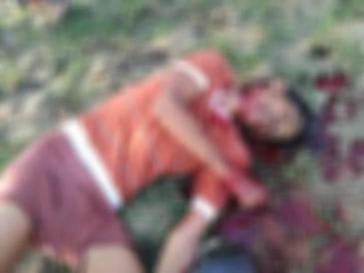 अब भेड़ाघाट में पड़ोसी ने विवाद में 38 वर्षीय युवक का मर्डर; ईंट-पत्थर और कुल्हाड़ी से हमला किया जबलपुर,Jabalpur - Dainik Bhaskar