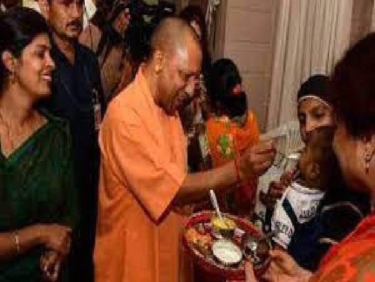 योगी बोले- यूपी में कोरोना के सबसे कम केस, आशा वर्कर और आंगनबाड़ी कार्यकत्रियों ने बेहतर काम किया, इसीलिए उनका मानदेय बढ़ाया|लखनऊ,Lucknow - Dainik Bhaskar