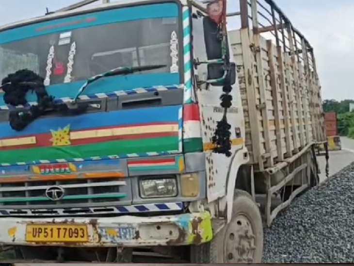 टूरिस्ट बस से प्रयागराज आई थी दिल्ली की महिला, फतेहपुर में बस रुकने पर उतरी और हो गई मौत|फतेहपुर,Fatehpur - Dainik Bhaskar