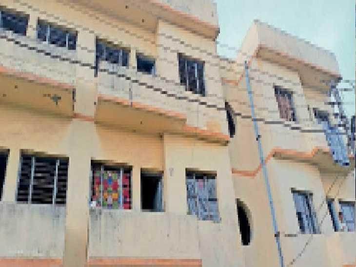 36 करोड़ की लागत से मास्टर गुरबंता सिंह एनक्लेव में बने इंद्रापुरम फ्लैट्स। - Dainik Bhaskar