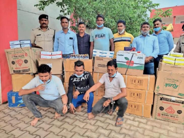 नशीली दवाओं के कारोबार में एमआर भी सक्रिय, 3 गिरफ्तार|भिलाई,Bhilai - Dainik Bhaskar