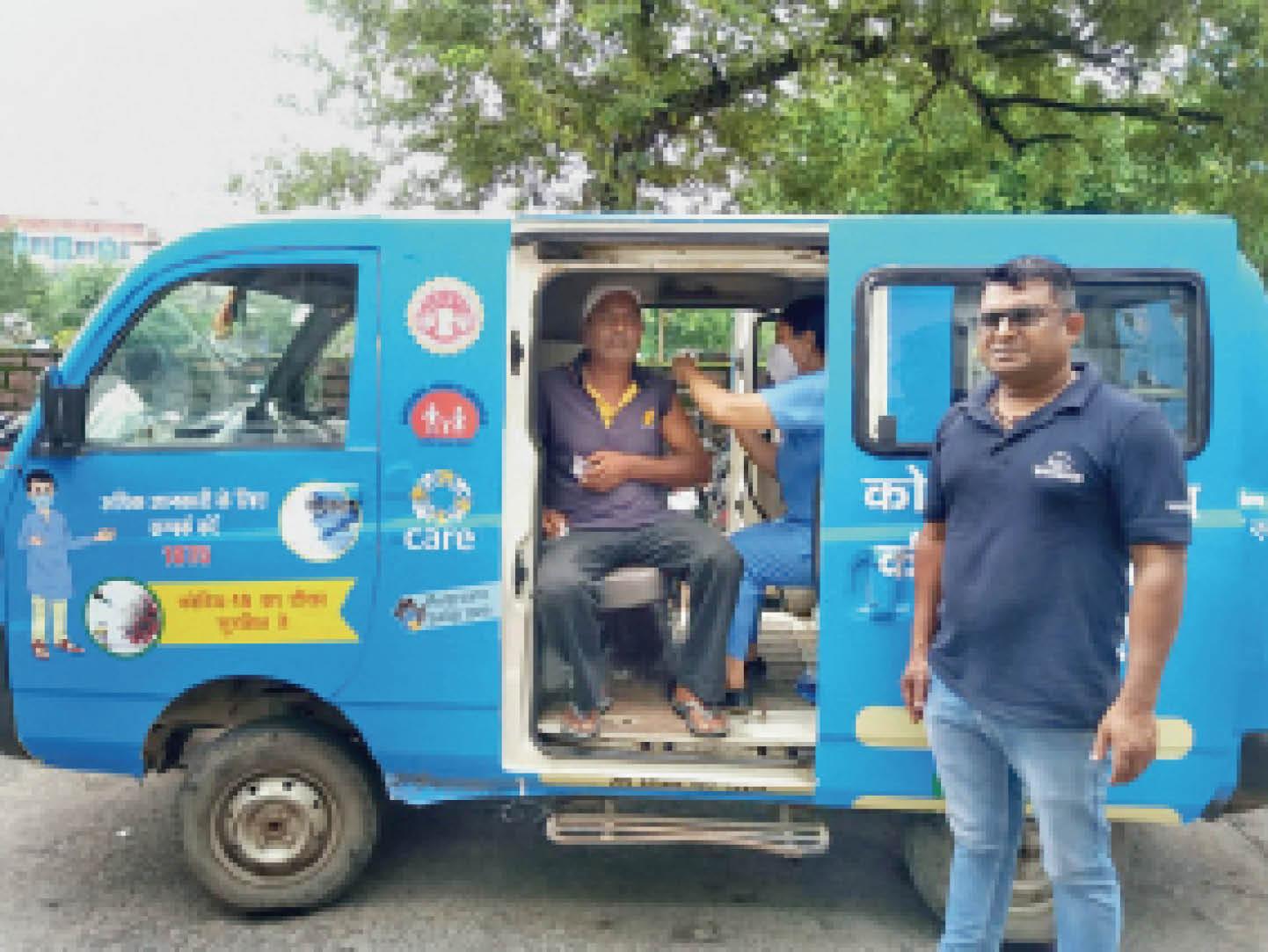 इंदौर ने 122 मोबाइल यूनिट से घर-घर पहुंचाई वैक्सीन, भोपाल में सिर्फ 8 वैन|भोपाल,Bhopal - Dainik Bhaskar
