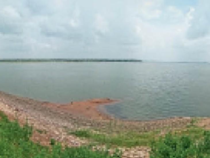 कोडार में 17% पानी, 38 जलाशयों के गेट बंद होने से होगी समस्या|महासमुंद,Mahasamund - Dainik Bhaskar