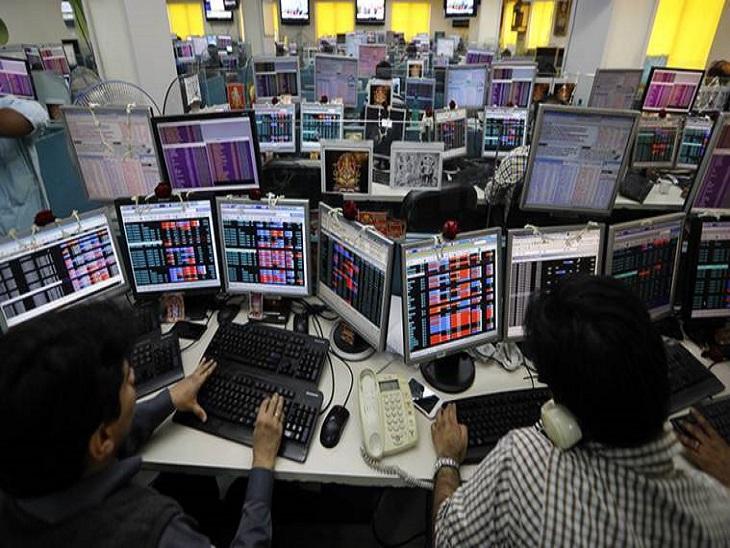 लाल निशान में कारोबार कर रहा बाजार, सेंसेक्स 58100 और निफ्टी 17,350 के नीचे फिसला; बैंकिंग और रियल्टी शेयर्स ने बनाया दबाव बिजनेस,Business - Dainik Bhaskar