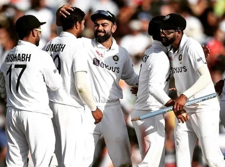 सिर्फ 41 रनों के अंदर 5 विकेट लेकर भारतीय गेंदबाजों ने रखी जीत की नींव, कैप्टन कोहली ने अपने फैसलों से जीता दिल|क्रिकेट,Cricket - Dainik Bhaskar