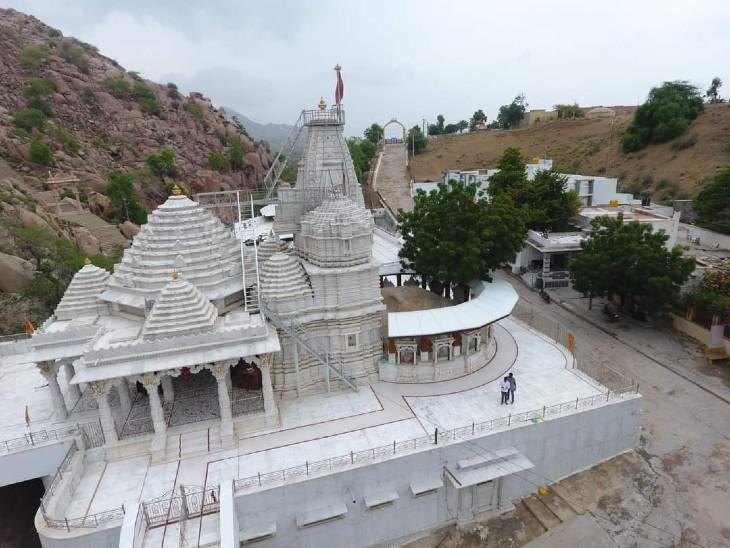 चौहटन क्षेत्र में वांकल माता वीरात्रा मंदिर।