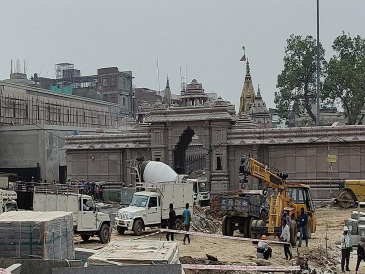 वाराणसी में गंगधार से बाबा दरबार तक बन रहे कॉरिडोर का 70% काम पूरा, CM योगी कर रहे मॉनिटरिंग; PM मोदी दिसंबर में करेंगे लोकार्पण|वाराणसी,Varanasi - Dainik Bhaskar