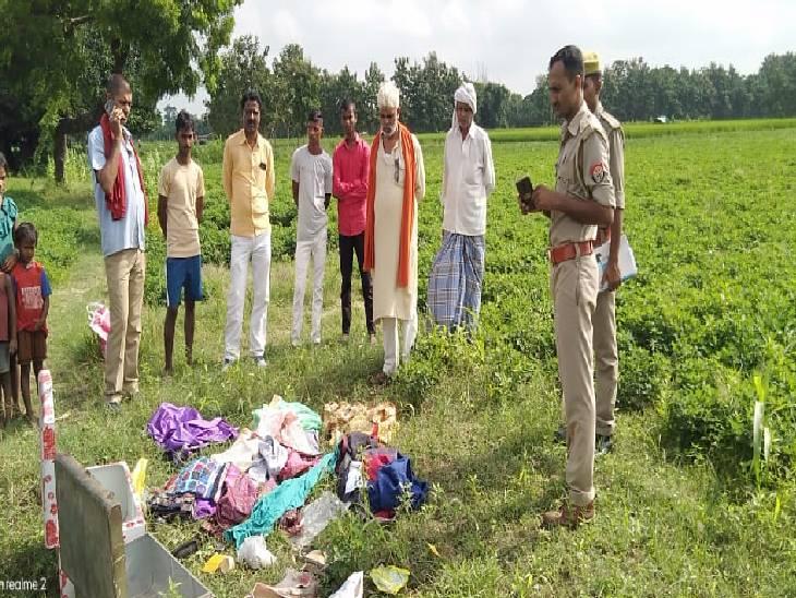दो महिलाओं से छीने जेवर, बक्से व कैश; गांव के बाहर कपड़े फेंककर हुए फरार देवरिया,Deoria - Dainik Bhaskar