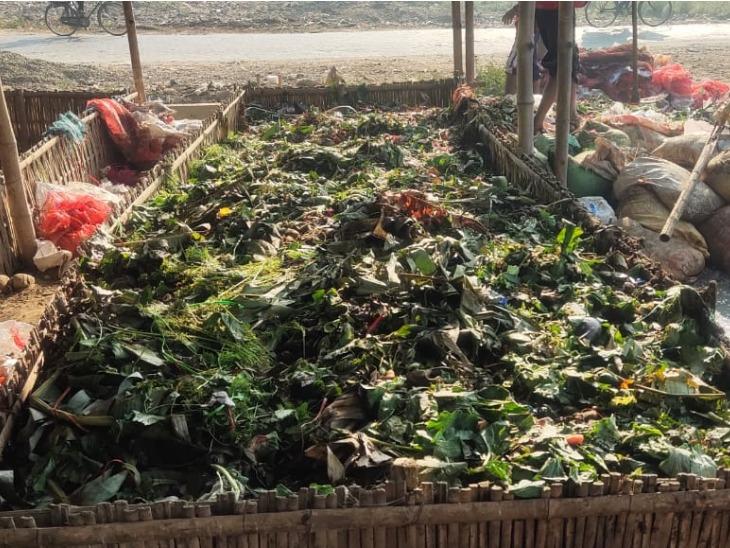 संजय बताते हैं कि ऑर्गेनिक वेस्ट से खाद तैयार करने में करीब 70 दिन का वक्त लगता है। 25 से 30 टन कचरे से एक किलो खाद बनता है।