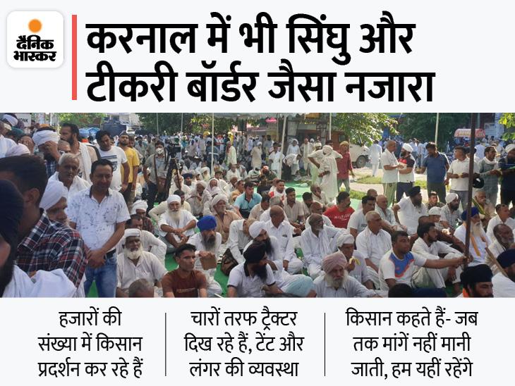 किसानों को डर- हरियाणा में SDM को सस्पेंड नहीं करा पाए तो दिल्ली में कानून कैसे वापस होंगे? सरकार को चिंता- यहां दबे तो दिल्ली दूर नहीं DB ओरिजिनल,DB Original - Dainik Bhaskar
