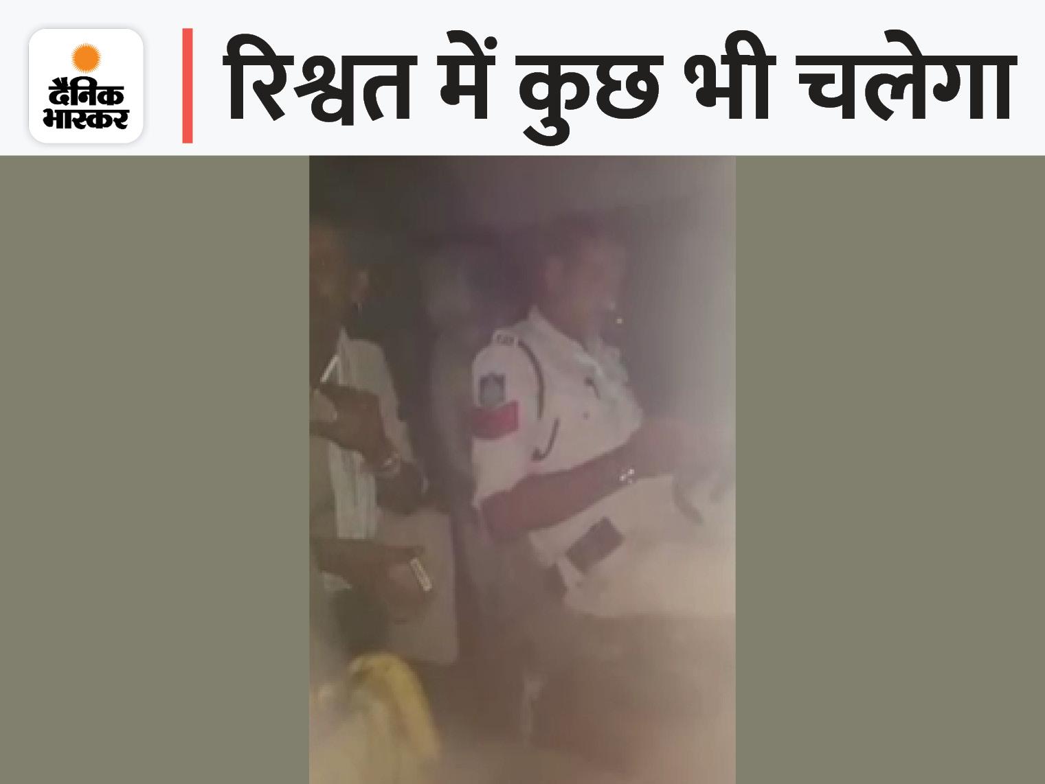 हेड कॉन्स्टेबल ने रात में ट्रक रोका और रिश्वत मांगी; रुपए नहीं होने पर गाड़ी से 24 केले ही घूस में ले लिए, SP ने सस्पेंड किया शिवपुरी,Shivpuri - Dainik Bhaskar