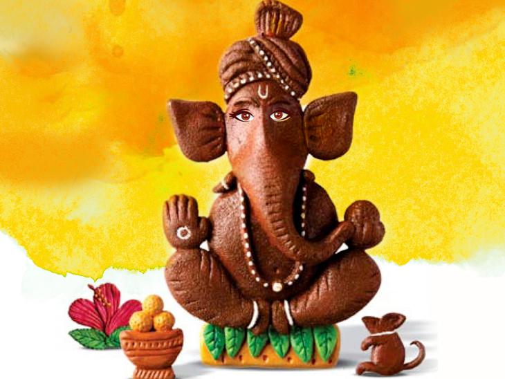 मिट्टी के गणपति स्थापित करना ही सबसे श्रेष्ठ, शास्त्रों के 5 श्लोक जो बताते हैं घर में गणपति स्थापित करते समय मूर्ति में क्या-क्या हो|धर्म,Dharm - Dainik Bhaskar