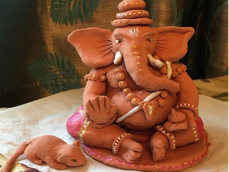 जिस प्रतिमा में चूहा न हो उसकी पूजा से लगता है दोष, बाईं ओर मुड़ी होनी चाहिए सूंड|धर्म,Dharm - Dainik Bhaskar