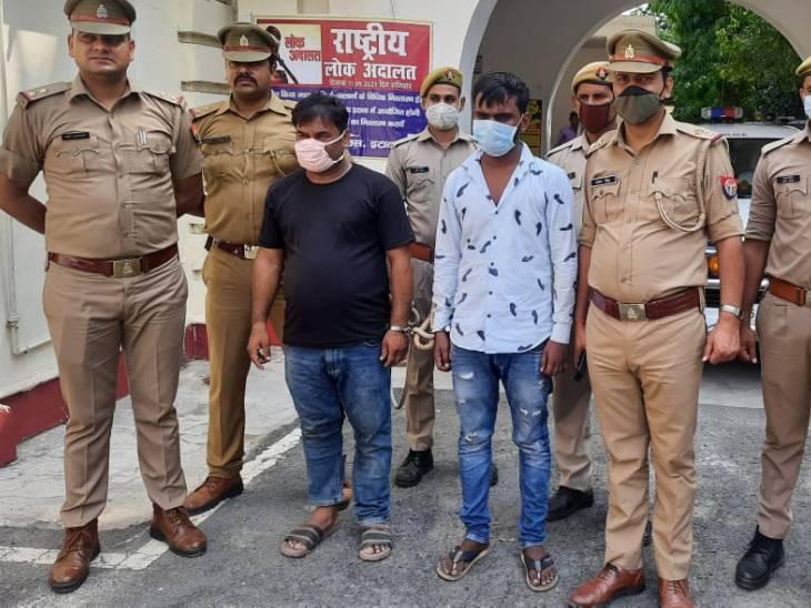 2 शातिर चोरों को घेराबंदी कर दबोचा; चोरी का माल, अवैध असलहा औरकार बरामद|इटावा,Etawah - Dainik Bhaskar