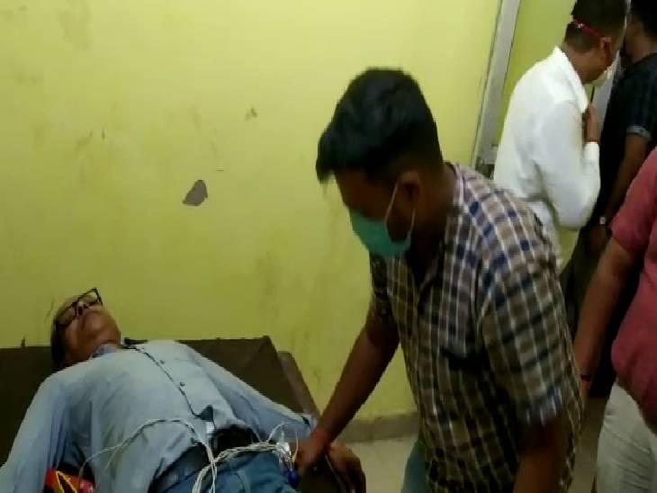 फटकार से मलेरिया अधिकारी की तबीयत बिगड़ी, यहां पहले भी हो चुकी है फार्मासिस्ट की मौत, सीएमओ पर लगा था आरोप|प्रतापगढ़,Pratapgarh - Dainik Bhaskar
