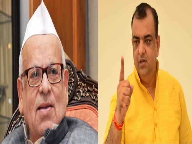 सीएम पर की थी अभद्र टिप्पणी, सरकार के लोगों को बताया था राक्षस और खून पीने वाले दरिंदें, भाजपा नेता आकाश सक्सेना ने दर्ज करवाया बयान|रामपुर,Rampur - Dainik Bhaskar