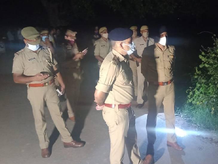 बदमाश हुए फरार, एसपी को फोन कर बोला घायल सिपाही-साहब, मुझे गोली मार दी है|बागपत,Baghpat - Dainik Bhaskar