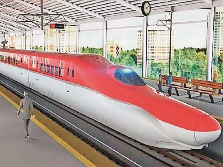 दिल्ली से अहमदाबाद के बीच 350 की रफ्तार से चलेगी, राजस्थान में जयपुर, अजमेर, उदयपुर सहित 7 स्टेशन होंगे, 3 घंटे में अहमदाबाद पहुंचाएगी|उदयपुर,Udaipur - Dainik Bhaskar