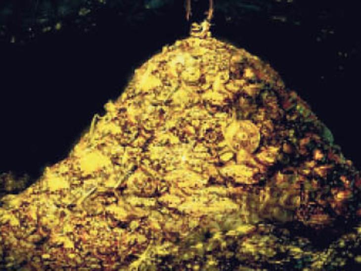 56 साल पहले शास्त्रीजी को तौलने के लिए जमा 57 किलो सोना उदयपुर में फिर अटका, केस नंबर नहीं मिलने से गफलत|देश,National - Dainik Bhaskar