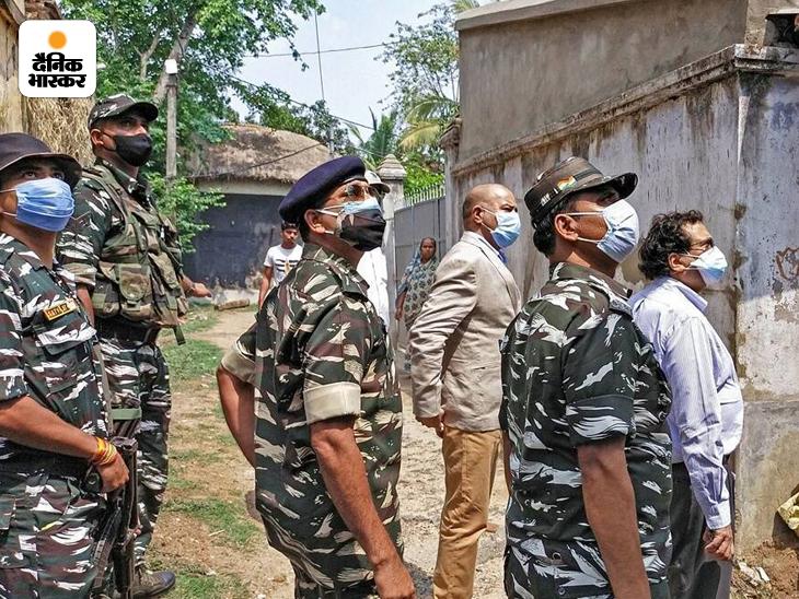 नतीजों के बाद हुई हिंसा की जांच के लिए नेशनल ह्युमन राइट्स कमीशन (NHRC) की टीम बंगाल पहुंची थी।