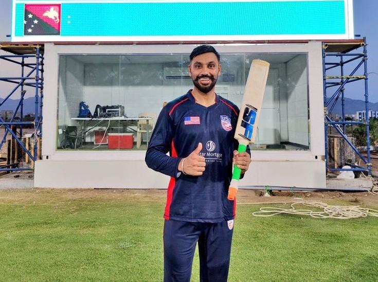 4 चौके और 16 छक्कों की मदद से भारतीय मूल के बल्लेबाज ने खेली रिकॉर्ड पारी, 124 गेंदों पर बनाए 173 रन|क्रिकेट,Cricket - Dainik Bhaskar