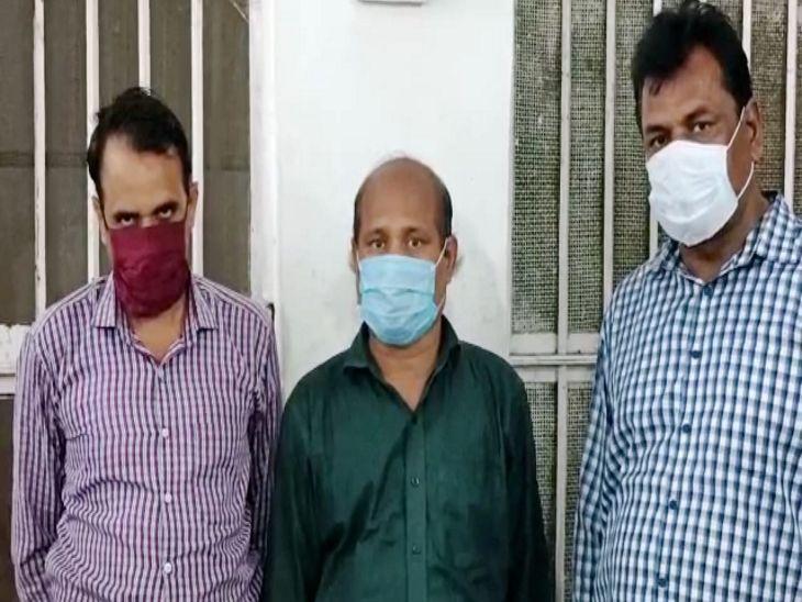 उज्जैन से तीन आरोपी गिरफ्तार, लोगों को अधिक राशि का प्रलोभन देकर जमा कराई थी राशि, 40 से 45 लाख ठगी कर भागे थे|धार,Dhar - Dainik Bhaskar