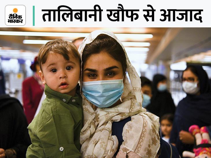 काबुल से 200 लोग एयरलिफ्ट कर दोहा पहुंचाए गए, काबुल एयरपोर्ट पर तालिबानी कब्जे के बाद पहली अंतरराष्ट्रीय उड़ान|विदेश,International - Dainik Bhaskar