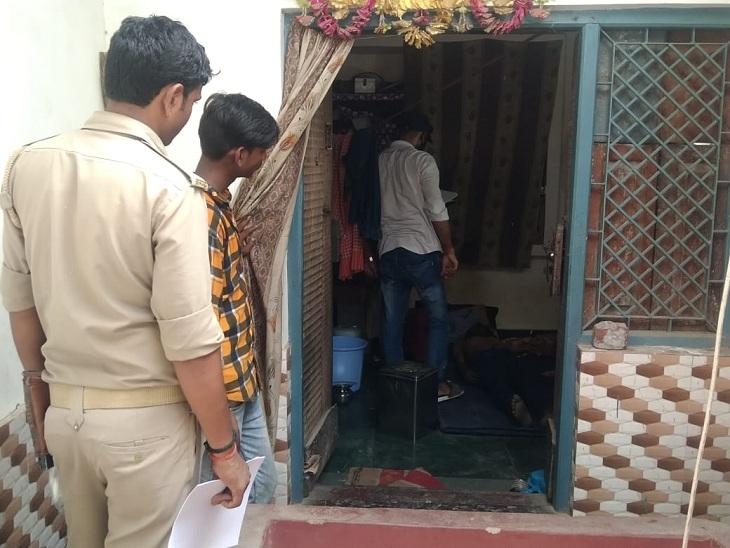 किराए के मकान में लटकता मिला युवक का शव, परीक्षा देने जा रही BA थर्ड ईयर छात्रा नदी में कूदी|वाराणसी,Varanasi - Dainik Bhaskar