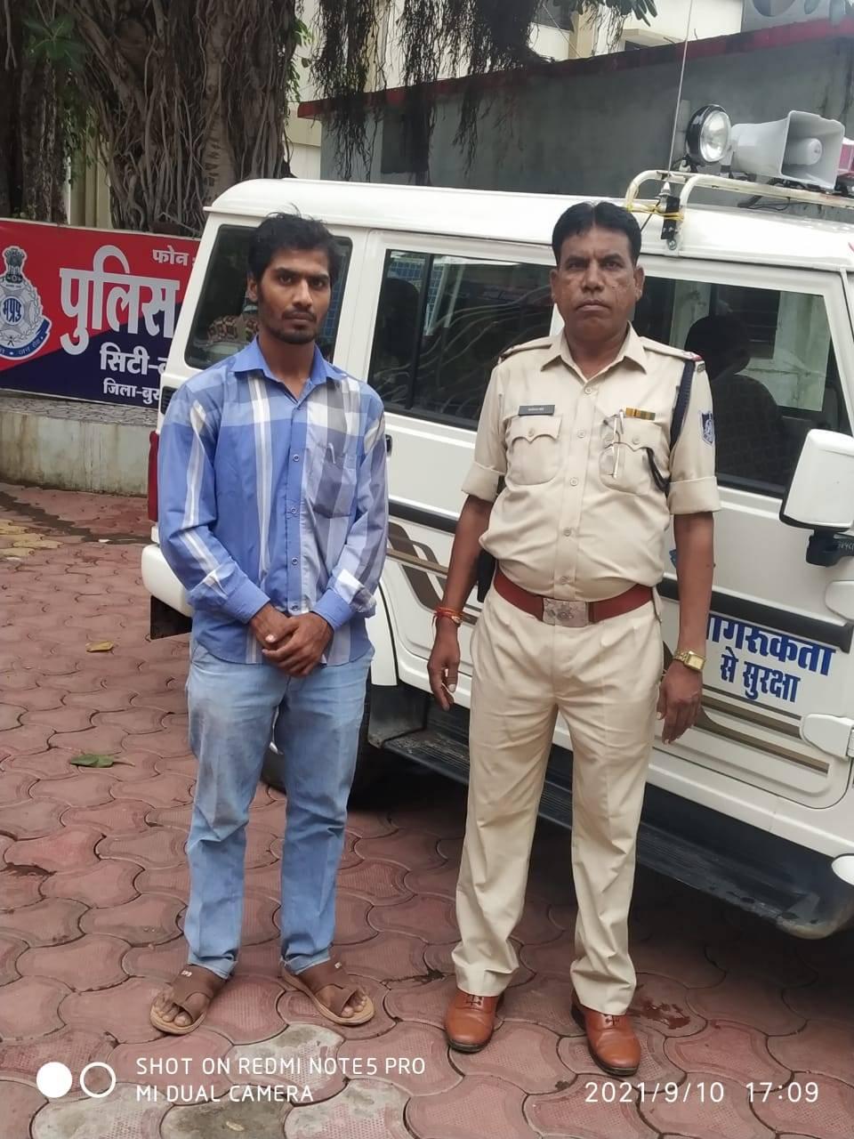 नकली हिना हेयर कलर बनाने वाले आरोपी गिरफ्तार, कॉपीराइट और ट्रेडमार्क एक्ट के तहत मामला दर्ज|बुरहानपुर,Burhanpur - Dainik Bhaskar