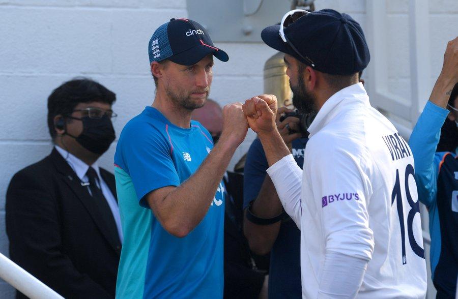 मैनचेस्टर टेस्ट के रद्द होने से पहले भारत सीरीज में 2-1 से आगे चल रहा था।