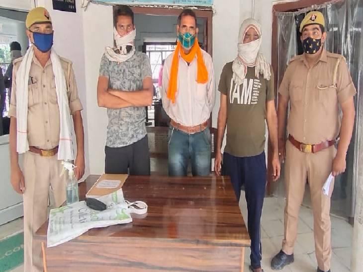 रामपुर में किस्त ना दे पाने पर ट्रक के पार्ट्स को काटकर बेचने का प्लान बनाया, कंपनी से लिए थे 6 लाख रुपए|रामपुर,Rampur - Dainik Bhaskar