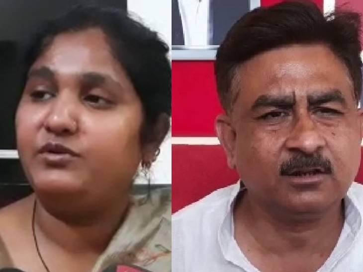 महिला बोली-मैं 16 साल पूर्व विधायक के साथ रिलेशन में रही हूं, इस हिसाब से दूसरी पत्नी; पूर्व विधायक बोले- मेरे साथ हो रही राजनीतिक साजिश|सुलतानपुर,Sultanpur - Dainik Bhaskar