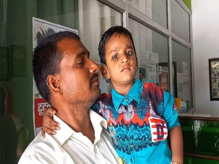 कानपुर के अस्पताल में हुआ निशुल्क इलाज, माता-पिता की खुशी का ठिकाना नहीं|कन्नौज,Kannauj - Dainik Bhaskar