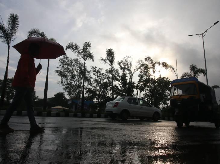 शहर से ज्यादा बारिश कोलार और बैरागढ़ में हो रही; बैरसिया और नवीबाग में सिर्फ फुहारें पड़ रहीं|भोपाल,Bhopal - Dainik Bhaskar