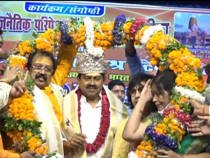 कानपुर में गृह राज्य मंत्री अजय मिश्र बोले- आक्रांता कलंक हैं, शहरों के नाम बदलने का सिलसिला जारी रहेगा|कानपुर,Kanpur - Dainik Bhaskar
