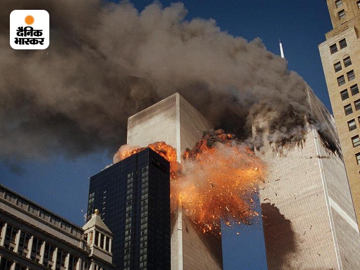11 सितंबर 2001 की सुबह 8:46 पर अल कायदा के आतंकियों ने पहला यात्री विमान WTC के नार्थ टॉवर से टकरा दिया। इसके 17 मिनट बाद यानी सुबह 9:03 पर दूसरा यात्री विमान साउथ टॉवर में क्रैश कर दिया। हमले से इन टॉवर्स में लगी आग 3 महीने तक धधकती रही।