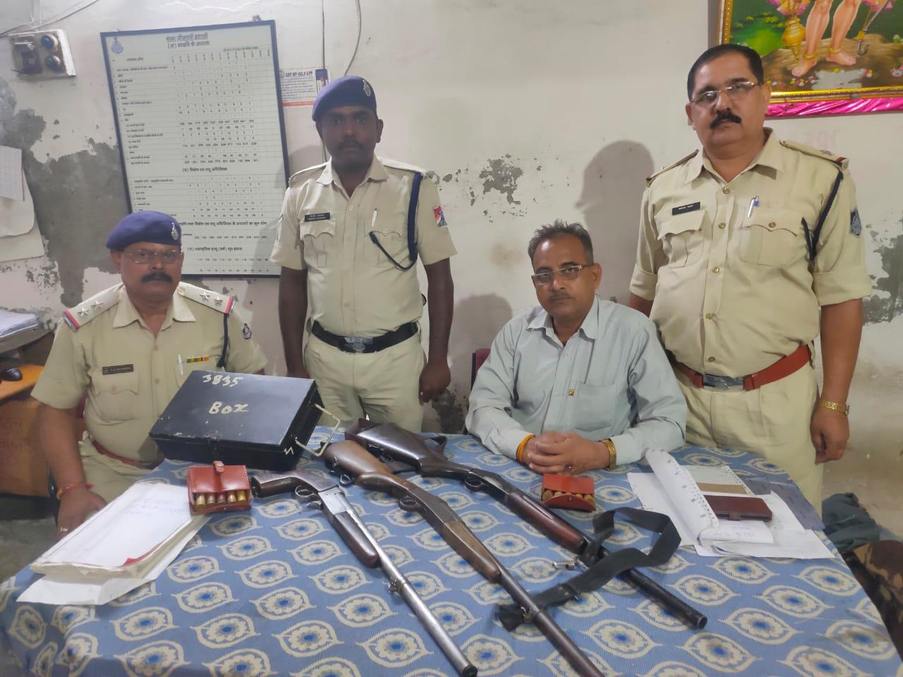 रेलवे जंक्शन से 2 किमी दूर नागपुर आउटर पर लावारिस बैग में 3 बंदूक और 10 कारतूस मिले; आशंका- तस्करी या लूट की थी तैयारी होशंगाबाद,Hoshangabad - Dainik Bhaskar