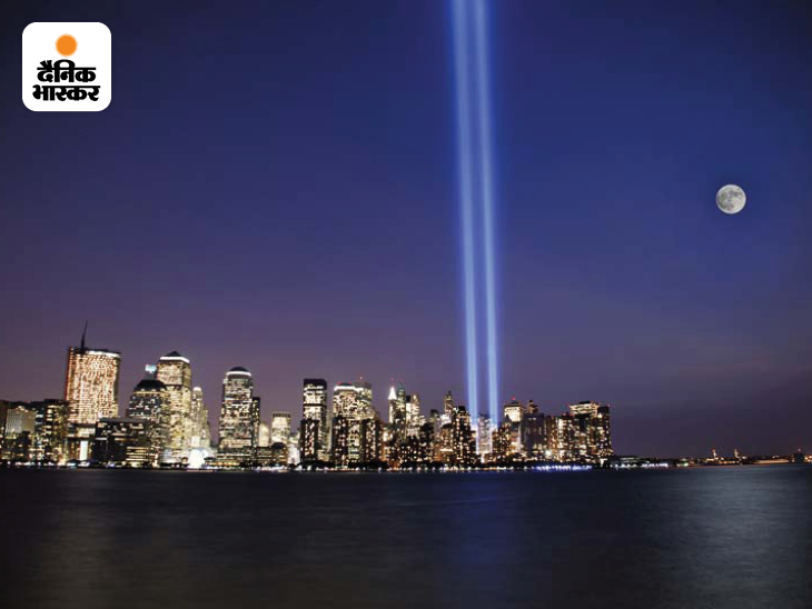 9/11 हमले के बाद वर्ल्ड ट्रेड सेंटर (WTC) के दोनों टॉवर की जगह को 88 जीनॉन लाइटबल्ब के जरिए रोशनी से ट्विन टॉवर बनाए गए। इसके साथ ही वहां मारे गए लोगों की याद में मेमोरियल और एक और ऊंचे टॉवर का निर्माण शुरू हुआ।