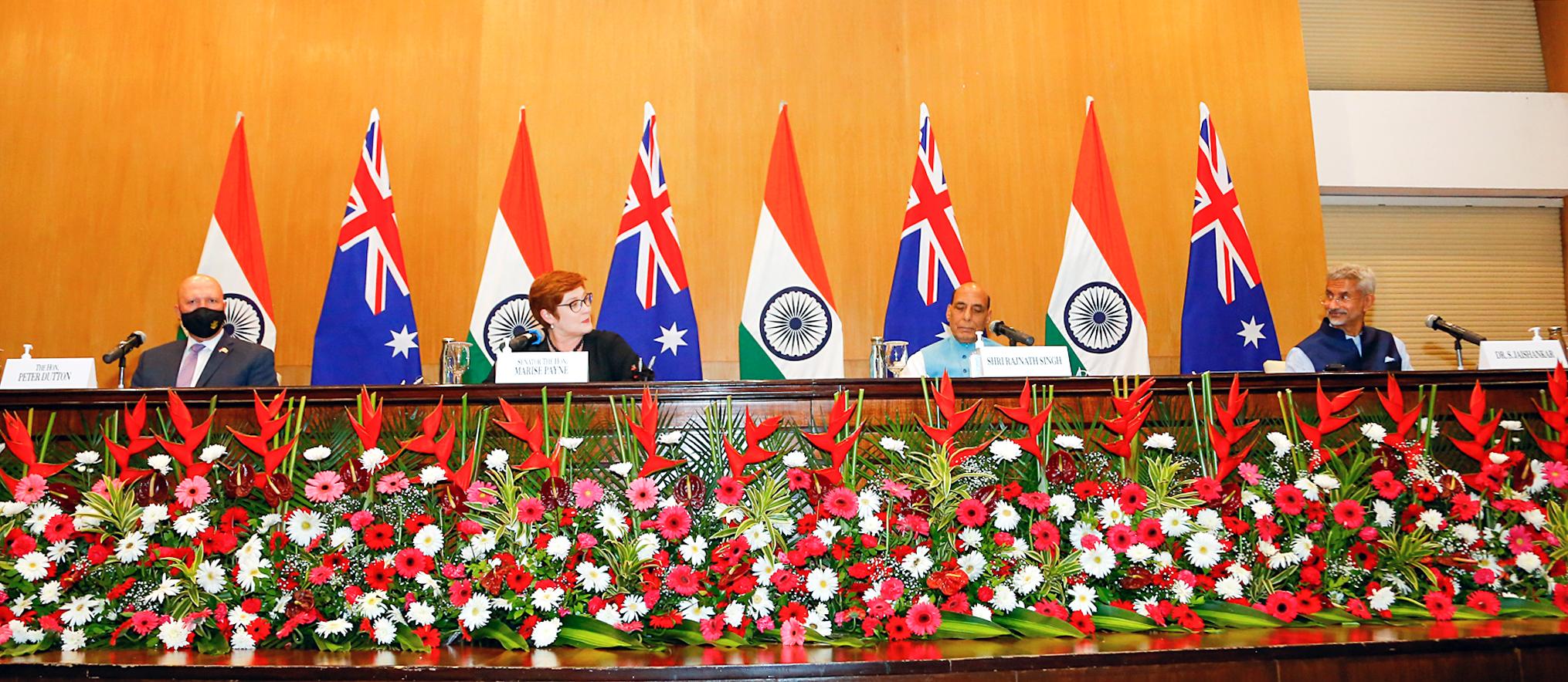दिल्ली में दोनों देशों के नेताओं ने द्विपक्षीय सुरक्षा, व्यापार और वैश्विक मुद्दों पर चर्चा की।