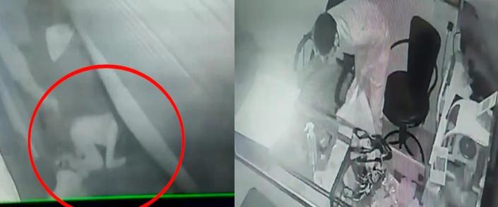 शटर उठाकर ज्वैलरी शॉप में घुसे बच्चे, 5 लाख के जेवर लेकर हो गए फरार; CCTV कैमरे में रिकॉर्ड हुई वारदात इंदौर,Indore - Dainik Bhaskar