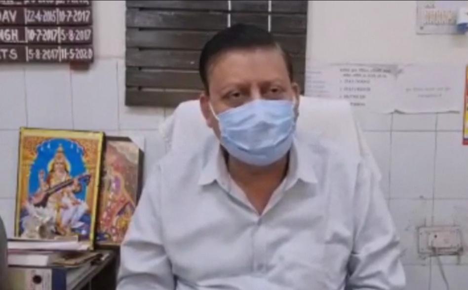 जानकारी देते सीएमओ अरुण कुमार
