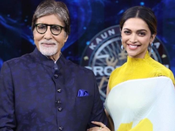 KBC में दीपिका ने अमिताभ बच्चन के सामने किया खुलासा, डिप्रेशन में जिंदगी से मन भर गया था|बॉलीवुड,Bollywood - Dainik Bhaskar