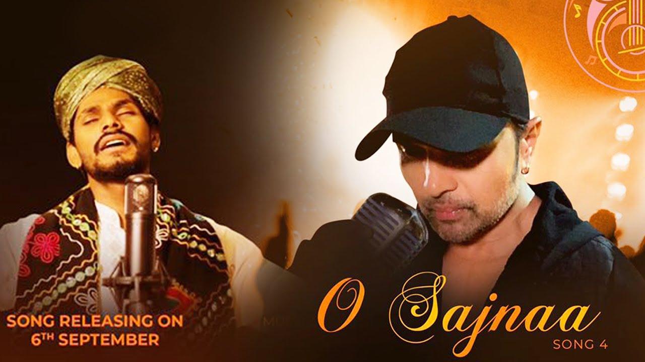 हिमेश रेशमिया के नए एलबम 'हिमेश दिल से' के नौवें गाने 'तुम हो दिल में, धड़कन में...ओ सजना' का पोस्टर।