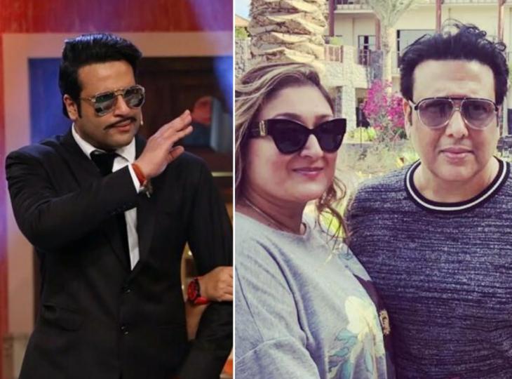 गोविंदा की पत्नी सुनीता ने कहा था-कृष्णा अभिषेक की शक्ल भी नहीं देखना चाहती, कॉमेडियन ने कहा, 'हम एक-दूसरे को प्यार करते हैं'|बॉलीवुड,Bollywood - Dainik Bhaskar